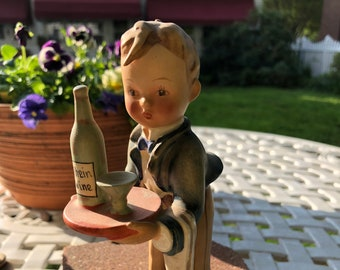 Hummel Waiter - 6 inches tall. Collectible like new