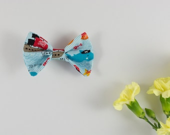 Pirate Hair Bow, Bow Tie