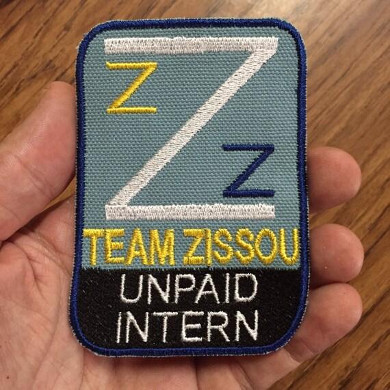 La vida acuática equipo Zissou //Life Aquatic Team Zissou movie//pelí Parche//Patch