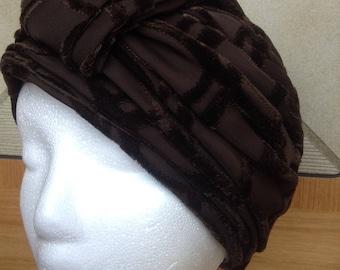 fc8ddf0b5ab43 Vintage Marshall Fields   Company Mr Kurt Original Chocolate Brown Women s  Hat with 12.25 Diam inch Hat Box