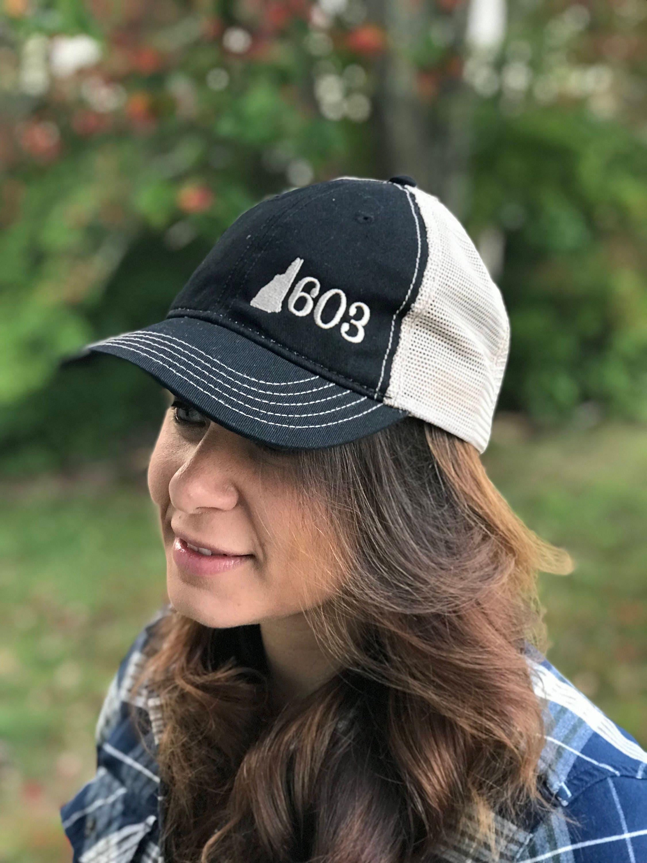 ce872f60e NH 603 Granite State Trucker Hat