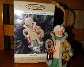 Hallmark Keepsake Ornament Mrs Claus from the Americana Folk Art Collection 1996