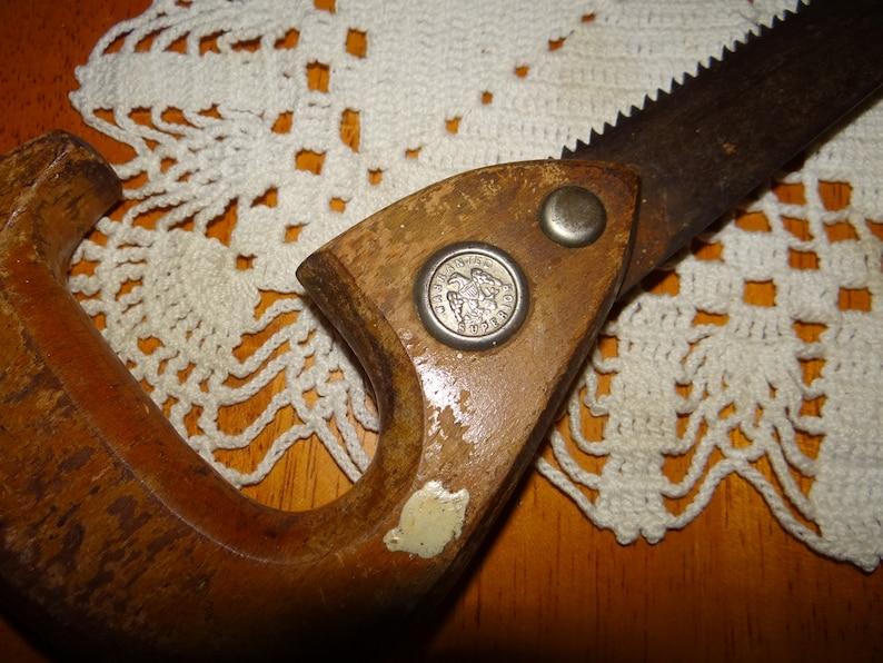 Vintage Warranted Superior Hand Saw...1950/'s