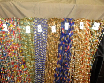 Waist Beads, Women Waist Beads, Sexy Waist Beads, Belly Beads, Handmade Beads, African Beads, Sarah's Beads 5.99 each