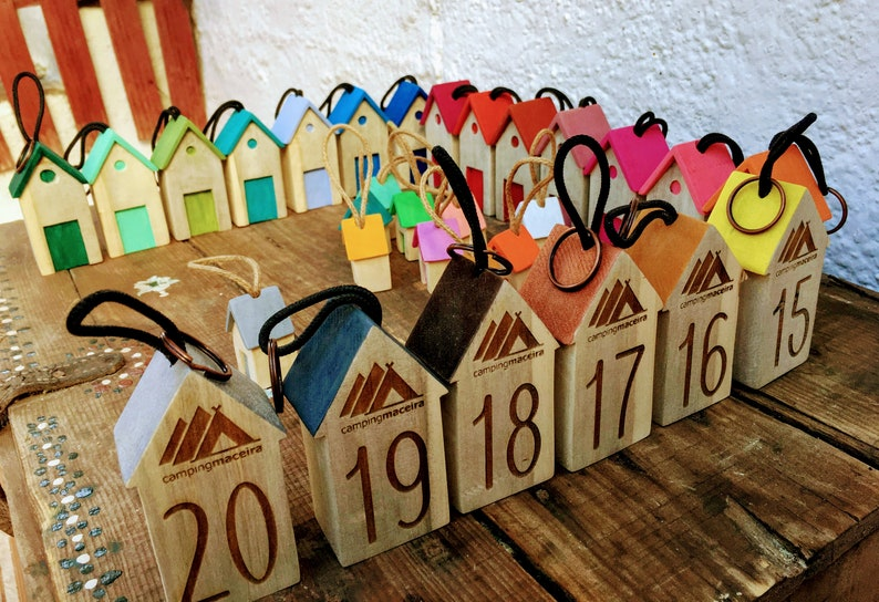 key rings for rural hotel wooden key ring for active tourism wooden key ring for rural hotel wooden keychain for camping