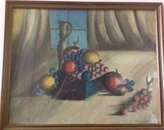 Still Life Pastel Original Art