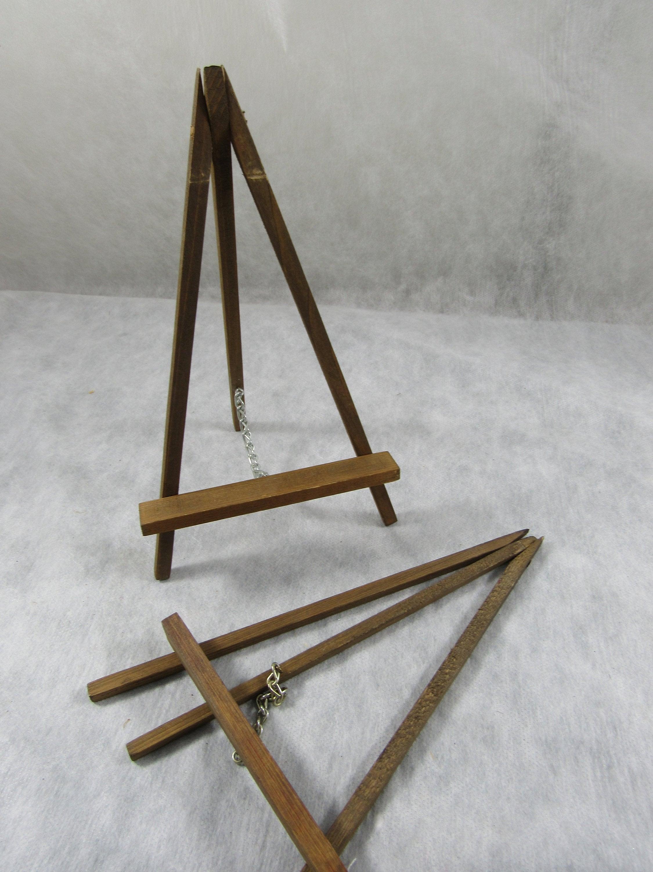 Vintage Wooden Easel Frame Holder Plate Holder Wood Display ...