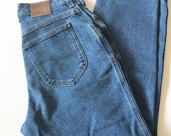 Vintage Lee Dark Wash Denim Jeans