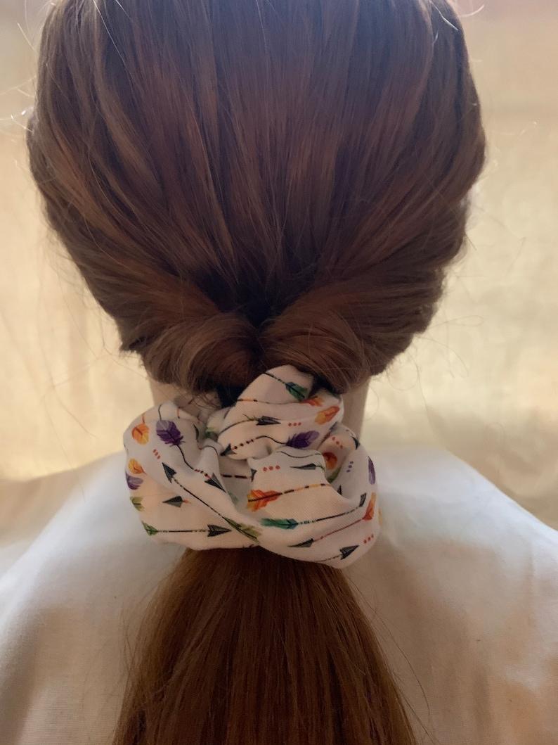 Handmade Fall Scrunchies