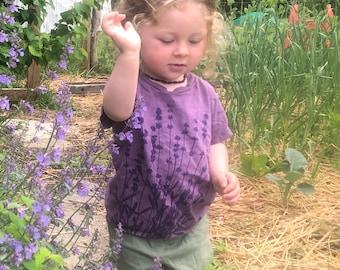 Kid's Organic Lavender T-shirt