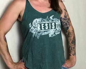 Resist Herbal Women's Tank All Profits Donated