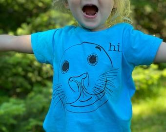 Kid's Organic Seal T-shirt