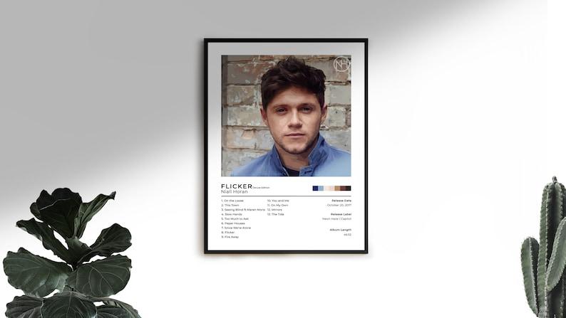 Niall Horan Heartbreak Weather Album Print Poster