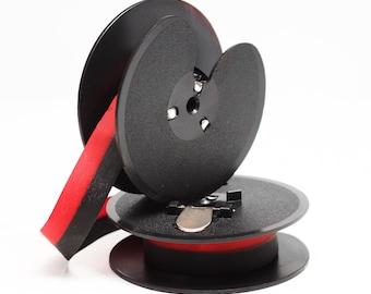 Royal 440 Typewriter Ribbon Blk//Red Twin Spool