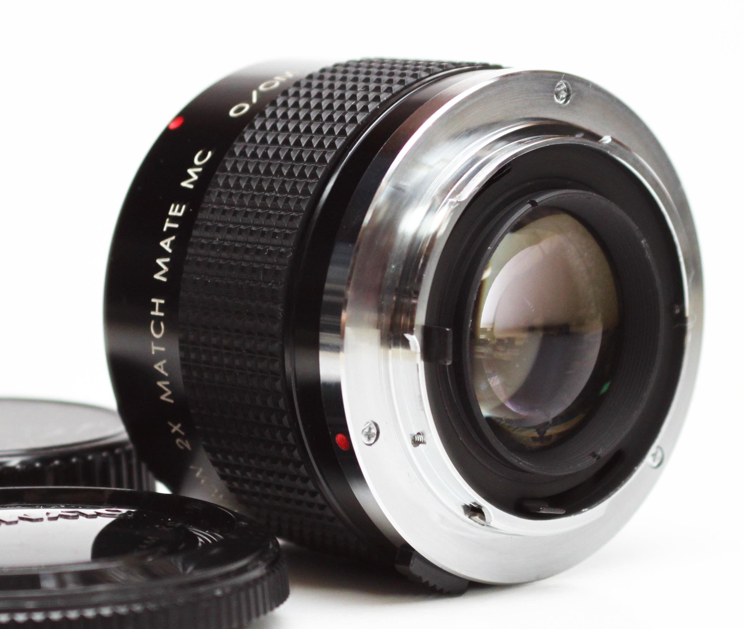 Kiron 2X Match Mate MC Teleconverter For Olympus OM Mount Lens Lenses