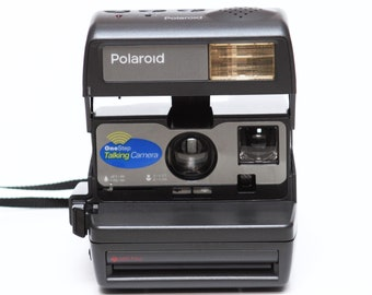 Polaroid One Step Talking Camera Instant 600 Film Made in UK Fully Operational