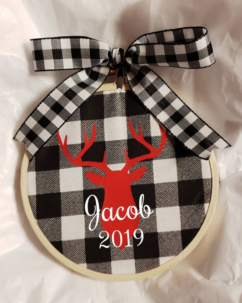 Personalized Christmas Ornament Personalized Ornament image 0
