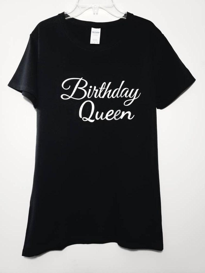 Birthday Queen Tshirt Birthday Gift Birthday Birthday Queen image 0