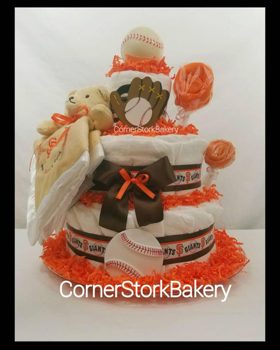 Baseball Diaper Cake Baseball Baby Shower Baseball Baby Etsy