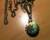 STEAMPUNK ( Angel Dagger) Necklace