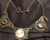 Steampunk Butterflies Choker