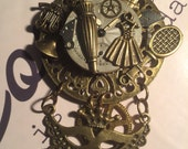 STEAMPUNK (Daily Chores) Pendant