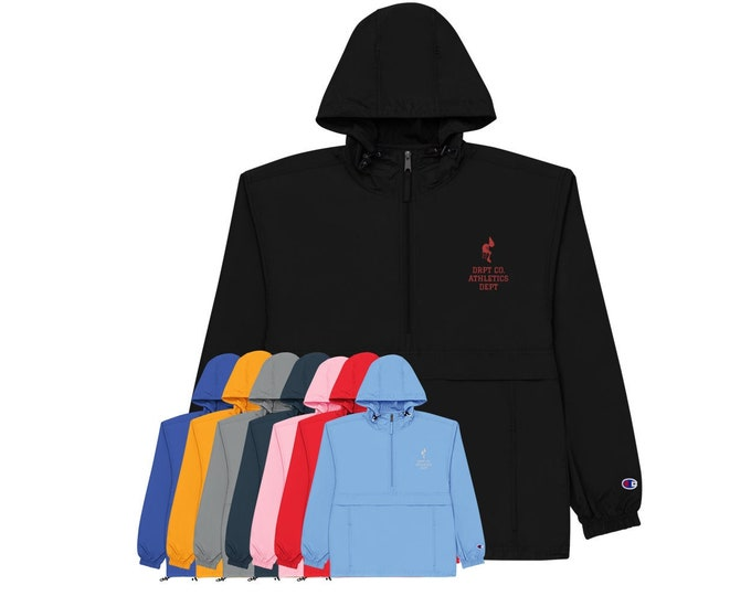 DRPT CO Champion Packable Polyester Jacket