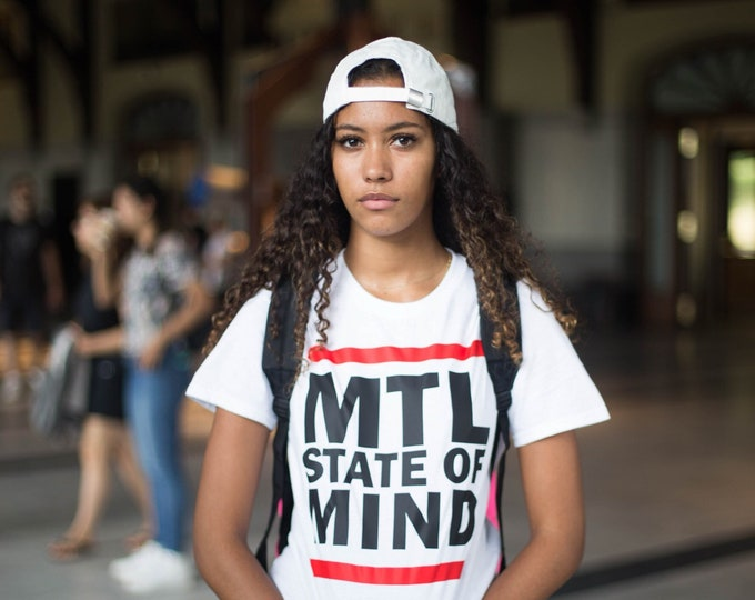 Montreal State Of Mind cotton tshirt