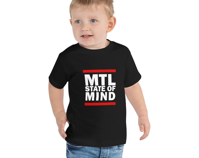MTL State Of Mind Toddler Short Sleeve Tee