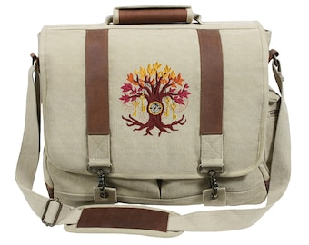 344669223c Steampunk Tree Laptop Bag