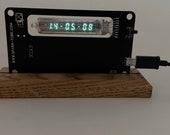 Assembled IV-21 VFD Nixie era Arduino Steampunk style watch art decoration holyday gift birthday ussr