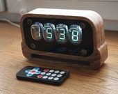 Assembled IV-22 VFD Nixie era Arduino Steampunk style watch art decoration holyday gift birthday ussr