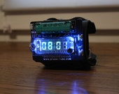nixie era vfd wrist watch clock steam punk portable IVL2-7/5 based