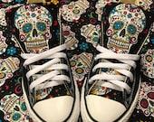 Sugar skull Converse Chuck Taylor Shoes