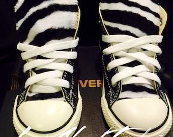 e0e70f25565b Zebra Print Converse Chuck Taylor Shoes Toddler Sizes
