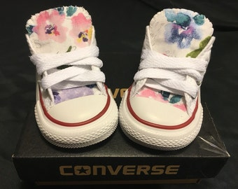 2ca48db6f8a Floral Converse Shoes Toddler Sizes