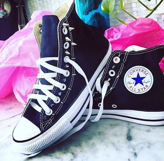 Spiked Converse Chuck Taylor All Star Schuhe   Etsy