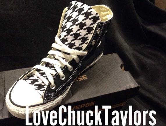 Hahnentritt Converse Chuck Taylor Schuhe Rockabilly