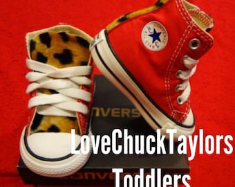 Leopard Toddler Converse Chuck Taylor All Star Shoes