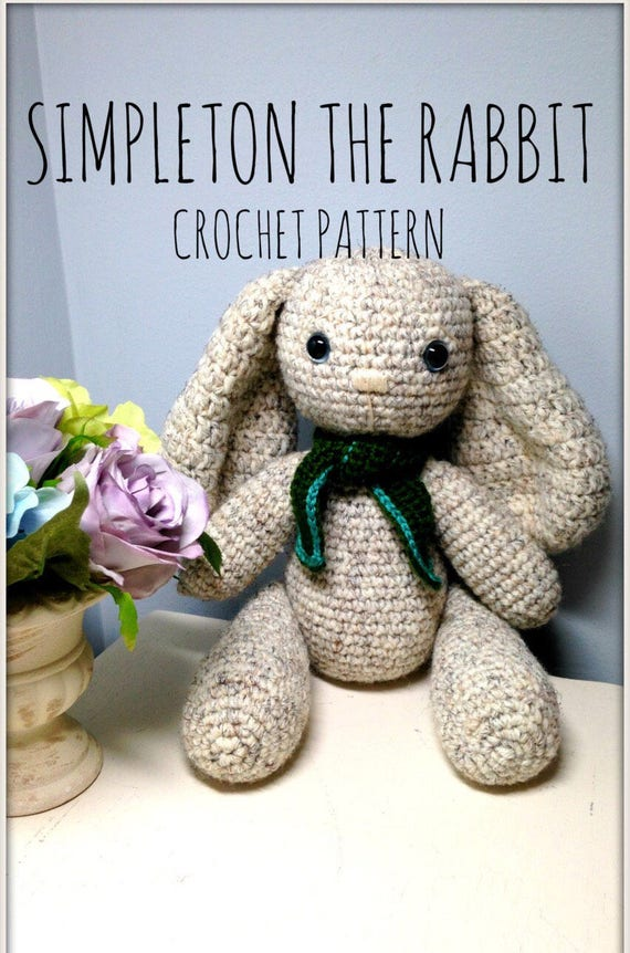 Easter Patterns Crochet Bunny Pattern Amigurumi Patterns Etsy