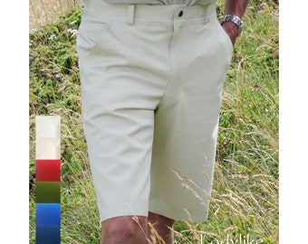Mens Latex Shorts c/w integral latex briefs lining