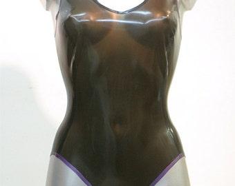 Latex Rubber Body / Sleeveless Leotard