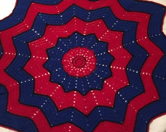 Spiderman Web Blanket