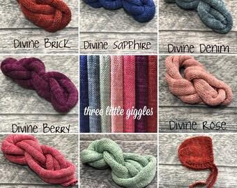 Divine Line - Bonnets - Wraps - Sets - Newborn Photography Props