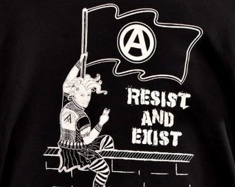 d1abf025b6 Resist and Exist double sided shirt