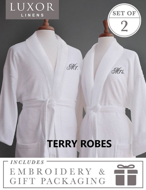 Monogrammed TERRY OR WAFFLE Bathrobes  483919f02