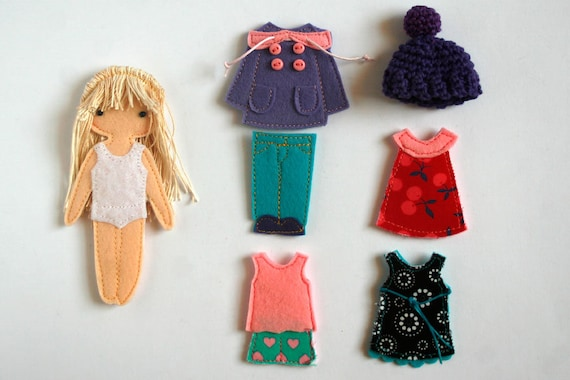 Toys & Games Armor of God set for Felt Paper Doll handmade by TomToy 12 cm  doll Handmade Products samel.com.br