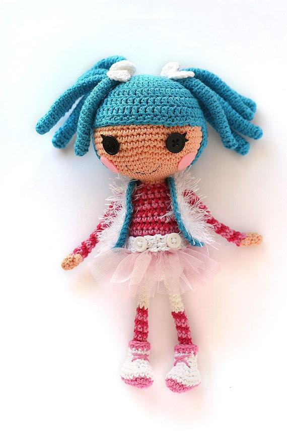 Amigurumi Crochet Doll LalaLoopsy Model 3 Free Pattern - Amigurumi ... | 855x570