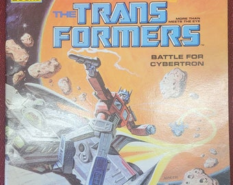 1985 Transformers Storybook Battle for Cybertron