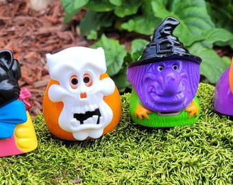 Vintage McDonald's Halloween Happy Meal Characters with Masks